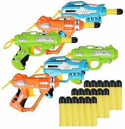 Liberty Imports Mini Foam Dart Blasters Multi Pack Party Fav