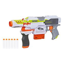 Nerf Modulus Motorized Toy Blaster with Drop Grip, Barrel Ex