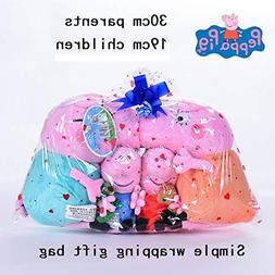 PampasSK Movies & TV - Original 4PCS 19-30CM Pink Plush Pig