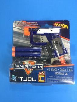 Nerf N-Strike 2x Jolt Blaster Gun Mini Elite Darts Hasbro NE