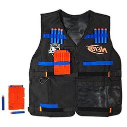 Official Nerf Tactical Vest N-Strike Elite Series Includes 2