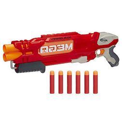 Nerf N-Strike Elite Shotgun Pump Double Barrel Toy Gun Blast