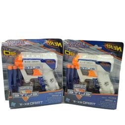 Nerf N-Strike Elite Triad EX-3 Blaster Lot of 2 Hasbro New F