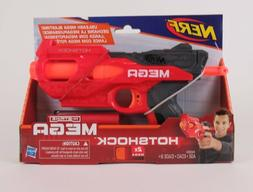 NERF N Strike Gun HOTSHOCK MEGA Dart Blaster w/ 2 Darts Hasb