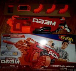 Nerf N-Strike Mega Mastodon BLASTER, Kids Toy 24 Dart Motori
