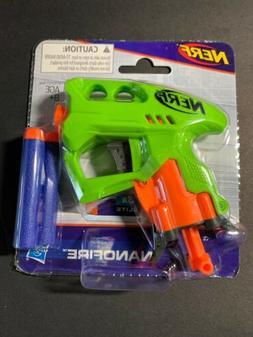 NERF Nanofire Blaster Mini Dart Gun with 3 Elite Darts Hasbr
