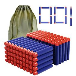 Coodoo Compatible Darts 100 PCS Refill Pack Bullets for Nerf
