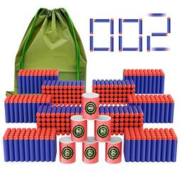 Coodoo Compatible Darts 500 PCS Refill Pack Bullets for Nerf
