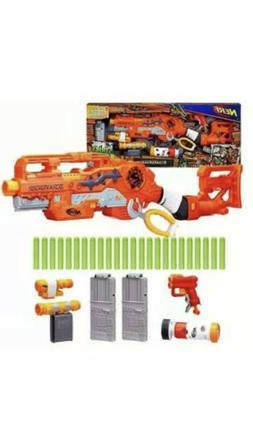 Nerf Gun New Zombie Strike Scravenger Survival System Toy Bl