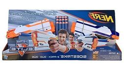 Nerf N-Strike Elite Sidestrike Blaster 2-Pack Nerf Guns with