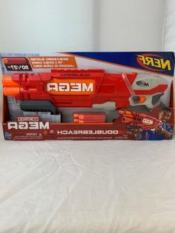 Hasbro Nerf N-Strike Mega Dart DoubleBreach Dart Gun New In