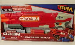 Hasbro Nerf N-Strike Mega Dart DoubleBreach Dart Gun New In