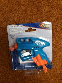NERF NanoFire Dart Gun  Ages 8+ Blue