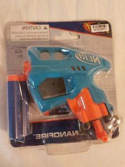 NERF NanoFire Dart Gun *NIP* Ages 8+ Blue