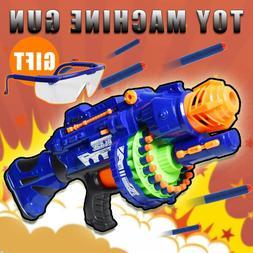 Nerf Rapid Fire Machine Gun Rifle Blaster Toy Gun Soft Bulle