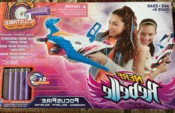 Nerf Rebelle Focus Fire Crossbow Blaster New Toy Ages 8+ Gir