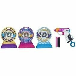 nerf rebelle knock out gallery set import