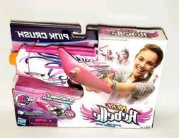 Nerf Rebelle Pink Crush Blaster Gun Toy: 2-in-1 Blaster & Mi