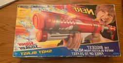 Nerf Red Super Soaker Shot Blast Hasbro Water Squirt Gun Bra