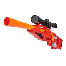 Nerf Style Gun Sniper Rifle Blaster w Scope Rail Adapter 4 F