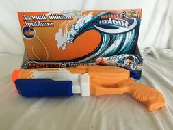 Nerf Super Soaker Double Drench Double Barrel Water Gun New