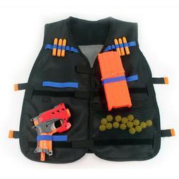 Nerf Tactical Vest Jacket Adjustable Elite Pistol Darts Gun