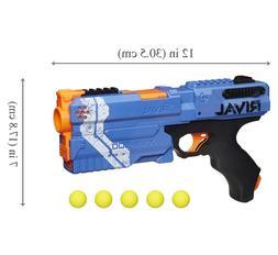 New Blue Nerf Guns for Boys Girls Rival Kronos Toy Gun Hand