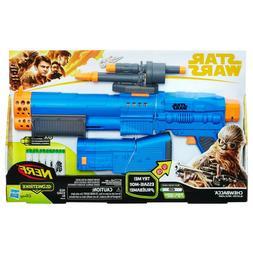 New Disney Nerf Star Wars Solo Story Chewbacca Blaster Glows