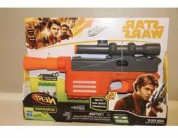 NEW Disney Star Wars Hasbro Han Solo Nerf Glowstrike Blaster