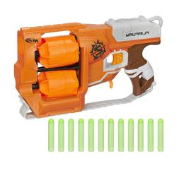 New Nerf Zombie Strike FlipFury Blaster Hand Cannon Boy's To