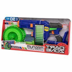 new foam dart nerf compatible machine gun
