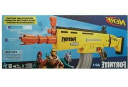 NEW Nerf Fortnite AR-L Elite Dart Blaster GOLD SCAR Gun - FA