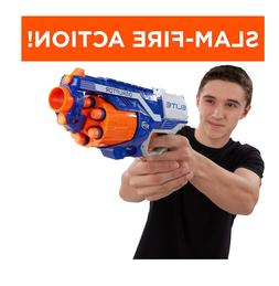 New Nerf Gun Boy's Toy Gun Elite Hand Cannon N Strike Blaste