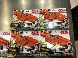 New Nerf Gun Glowstrike Star Wars Poe Dameron Blaster 3 Dart