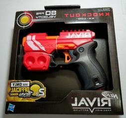 New Nerf Gun Rival Knockout Blaster Red Toy Hand Guns Foam b