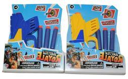 New Lot of 2 Battle Royal Mini Strike Nerf Gun Shooter Darts