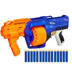 New Nerf Gun N Strike Blaster SurgeFire Guns for Boys Includ
