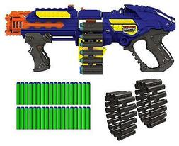 NEW Nerf Gun Zombie Blaster Strike Rapid Fire Foam For Boys