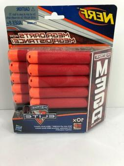 New Hasbro NERF N-Strike Elite 10x Mega Series Foam Darts Bu