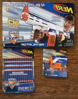 New! Nerf N-Strike Elite Retaliator Blaster Gun -Extra Darts