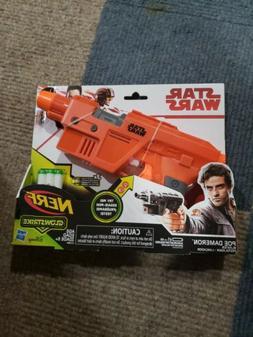 NEW Star Wars Nerf Poe Dameron Blaster GLOWSTRIKE HASBRO DIS