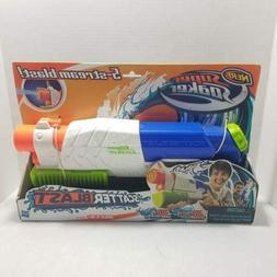New Original Nerf Super Soaker Scatter Blaster 5 Stream Blas