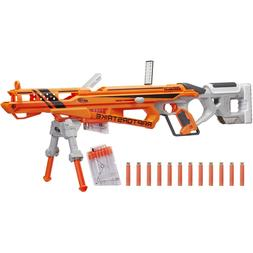 New Nerf Sniper Rifle Accustrike Raptor Strike Blaster Toy G