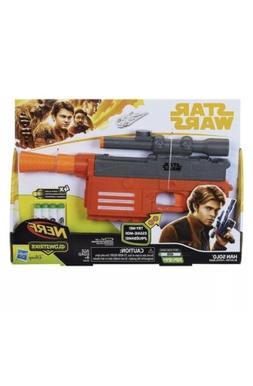 New Star Wars Nerf Gun Han Solo Blaster Pistol FREE SHIPPING