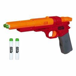 NEW Star Wars NERF Toy Dart Gun Blaster QI'RA Red & Orange G