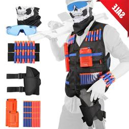 NEW Tactical Vest Suit Jacket Kit For Nerf Guns N-Strike Eli