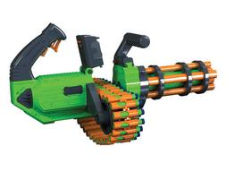new twin motorized gatling belt dart blaster