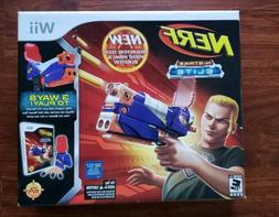 *NEW* Wii NERF N-Strike Elite Bundle - Game + Gun factory se