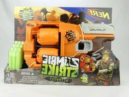 New Nerf Zombie Strike FlipFury Blaster Toy Gun Soft Darts B