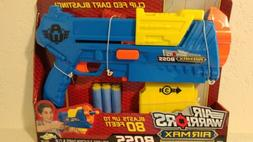 NIB Buzz Bee Toys Air Warriors Boss XL Dart Gun Fits Nerf Me